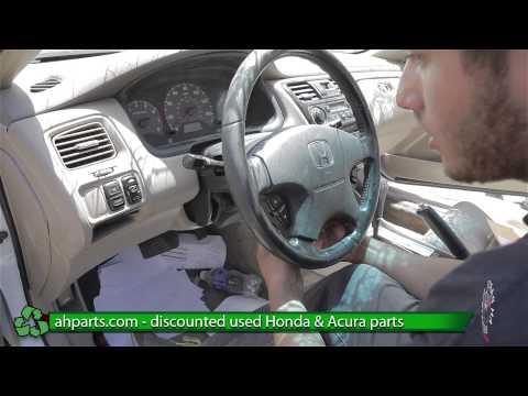 How to replace an Air Bag Honda Accord REPLACE DIY
