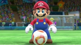 getlinkyoutube.com-Mario & Sonic at the Rio 2016 Olympics - MAX Difficulty Tournament - Football, Rugby & Volleyball