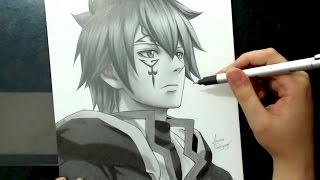 getlinkyoutube.com-Speed Drawing - Jellal (Fairy Tail)
