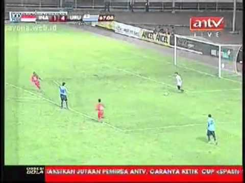 full match indonesia vs uruguay babak 2 friendly 2010  (merged)
