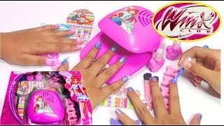 getlinkyoutube.com-Winx Fairy Fashion Set - Do-It-Yourself Nail Art Design