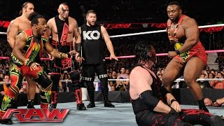 getlinkyoutube.com-Demon Kane vs. Seth Rollins - Lumberjack Match: Raw, October 12, 2015