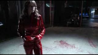 getlinkyoutube.com-Erica Durance red pvc HD