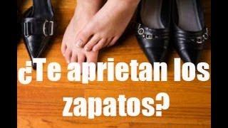 getlinkyoutube.com-Cómo ampliar zapatos estrechos