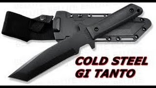Cold Steel GI Tanto Review