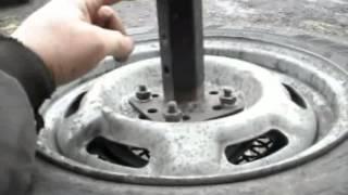 getlinkyoutube.com-Обзор жигулевских колес на мотоблоке