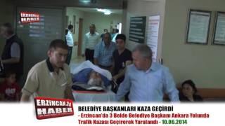 Belediye Başkanları Trafik Kazasında Ölümden Döndü