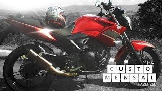 getlinkyoutube.com-Comprar uma Fazer 250cc ganhando pouco /Orçamento de custo mensal /RobertyR7