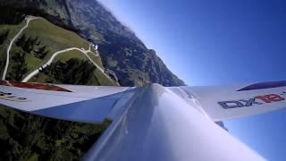 getlinkyoutube.com-E-flite Mystique in de Alpen