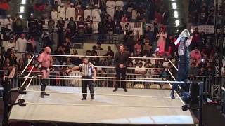 Triple H (HHH) vs Roman Reigns WWE Live Abu Dhabi - Full Match