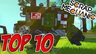 getlinkyoutube.com-TOP 10 VÉHICULES SCRAP MECHANIC !! #14