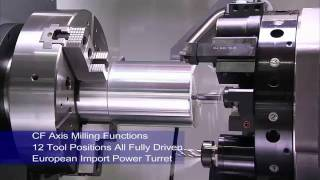 getlinkyoutube.com-CNC-TAKANG Taiwan, CNC Heavy Duty Lathe Machine