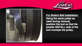 getlinkyoutube.com-Lisle 59370 Stretch Belt Remover/Installer - Lisle Corporation