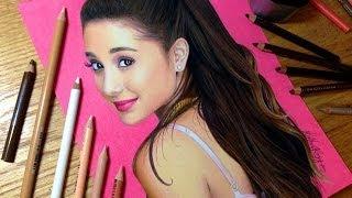getlinkyoutube.com-Drawing Ariana Grande