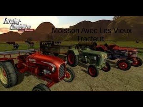 Farming Simulator 2013 PC : La Moisson Avec Les Vieux Tracteurs.