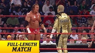 getlinkyoutube.com-FULL-LENGTH MATCH - Raw - Goldust vs. Triple H