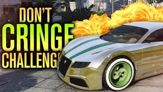 TRY NOT TO CRINGE CHALLENGE - GTA YOUTUBERS & CARS