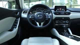 getlinkyoutube.com-2015 Mazda 6 Interior Design | AutoMotoTV