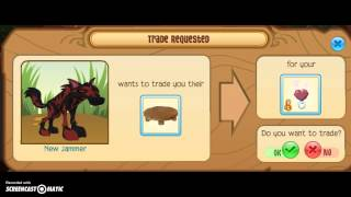 getlinkyoutube.com-Animal Jam Trade Attempts For Heart Rings 2015