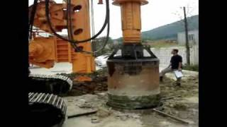 getlinkyoutube.com-Rotary Drilling Rig(DBM Series) Demonstration2