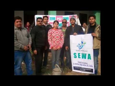 SEWA & PSF India- Plantation on first Day of New Year 2013