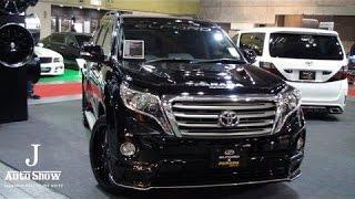 getlinkyoutube.com-(HD)Osaka Auto Messe 2014-TOYOTA LANDCRUISER PRADO(大阪オートメッセ2014)