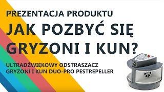 getlinkyoutube.com-Ultradźwiękowy odstraszacz gryzoni Duo-Pro Pestrepeller. Odstraszacz na kuny. Jak pozbyć się kuny?