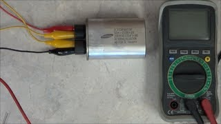 getlinkyoutube.com-How to test the Microwave Oven's HV Capacitor