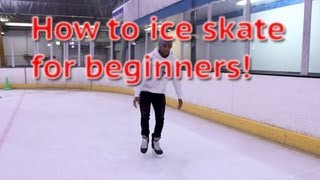 getlinkyoutube.com-How To Ice Skate And Glide For Beginners - Skating 101 For The First Time Learn To Skate Tutorial