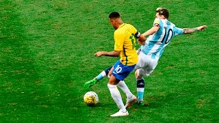 getlinkyoutube.com-Neymar vs Argentina (Home) 16-17 HD 720p (10/11/2016)