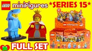 getlinkyoutube.com-Lego Minifigures Series 15 71011 FULL SET