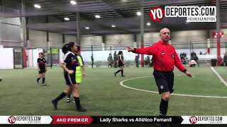 Semifinal Lady Sharks vs Atletico Femenil AKD Premier Soccer League