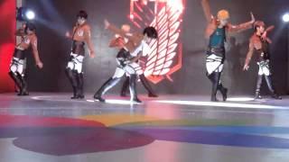 getlinkyoutube.com-Shingeki no Kyojin [進擊の巨人]Cosplay Dancing to This love by Shinhwa
