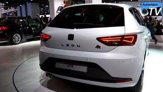 getlinkyoutube.com-2013 Seat Leon FR 2.0 TDi (184hp) - in Detail (1080p FULL HD)