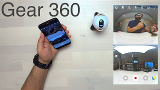 Samsung Gear 360 فتح علبة وإستعراض كاميرا