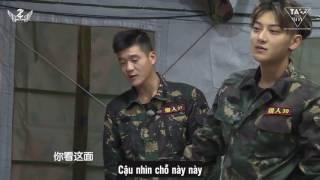 [Vietsub] 170112 Z.TAO Takes A Real Man BTS - Trổ tài gấp chăn