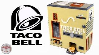 getlinkyoutube.com-LEGO Bricks: Taco Bell Machine | Rolled Chicken Tacos