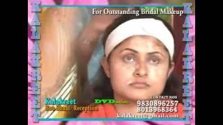 getlinkyoutube.com-BENGALI BRIDAL MAKE-UP BY KALAKREET (BOU BHAAT RECEPTION)
