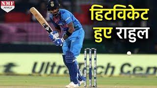 देखिए कैसे चौथे T20 Match में Hitwicket हुए K.L Rahul
