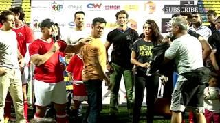 Charity Football Match With Aamir Khan and Salman Khan Part 2
