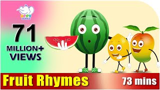 getlinkyoutube.com-Fruit Rhymes - Best Collection of Rhymes for Children in English