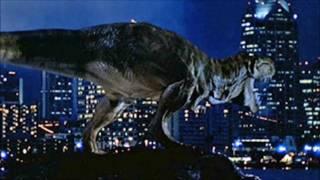 getlinkyoutube.com-Jurassic World 2: Bull T-Rex/T-Rex Family