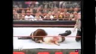 WWE Lita w/ Chris Jericho vs Trish Stratus w/ Chistian