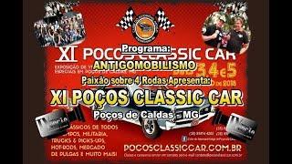 XI Poços Classic Car - Poços de Caldas-MG.2018