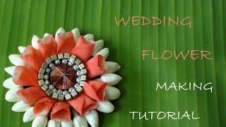 getlinkyoutube.com-Wedding flower making tutorial video
