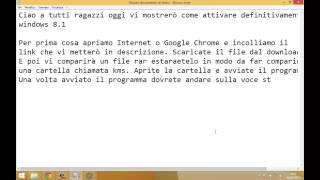 getlinkyoutube.com-Come attivare Windows 8.1 definitivamente
