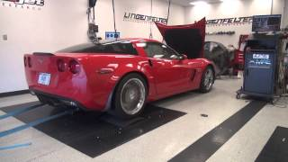 getlinkyoutube.com-Lingenfelter Performance Engineering  GT21 Heads and Cam LS7 Z06 Corvette