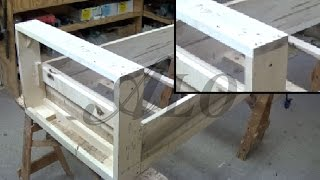 getlinkyoutube.com-HOW TO BUILD A BENCH FRAME - ALO Upholstery