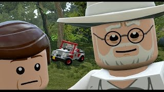 getlinkyoutube.com-LEGO Jurassic World - All Cutscenes