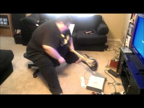 *ORIGINAL* Fat Guy (Francis) Destroys his Xbox - Don't Call Him FAT!